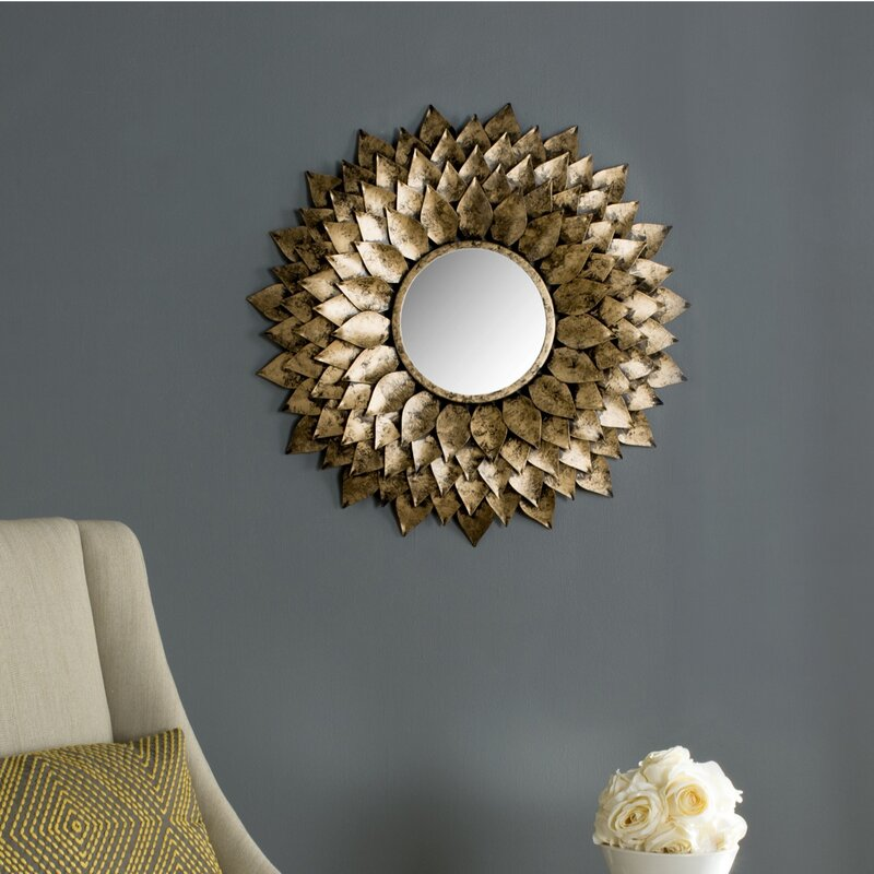 Sunburst Wall Mirror darby home co sunburst wall mirror & reviews | wayfair