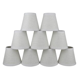Clip on paper light shades youll love wayfair 5 paper empire candelabra shade set of 9 aloadofball Gallery