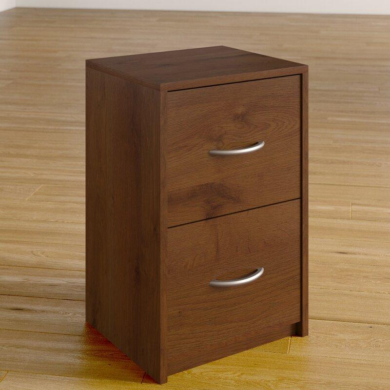 Ivan 2 Drawer File Cabinet