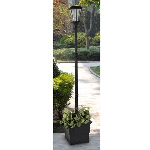 Outdoor lamp post wayfair wharton solar lamp 1 light led 8346 post light workwithnaturefo