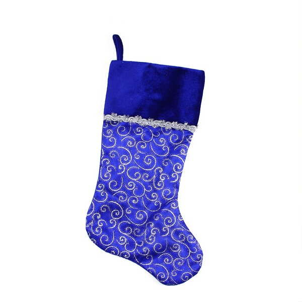 blue christmas stockings youll love wayfair