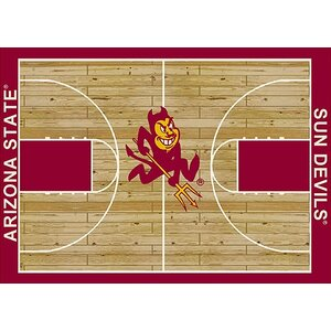 NCAA College Home Court Arizona State Novelty Rug