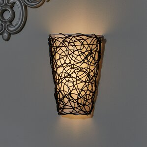 what is sconce lighting. camelon 6light wicker wall sconce what is lighting d