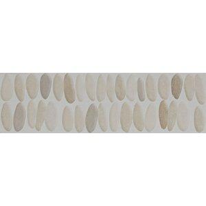 Laura Ashley 14.8cm x 49.8cm Ceramic Pebble Tile in Beige