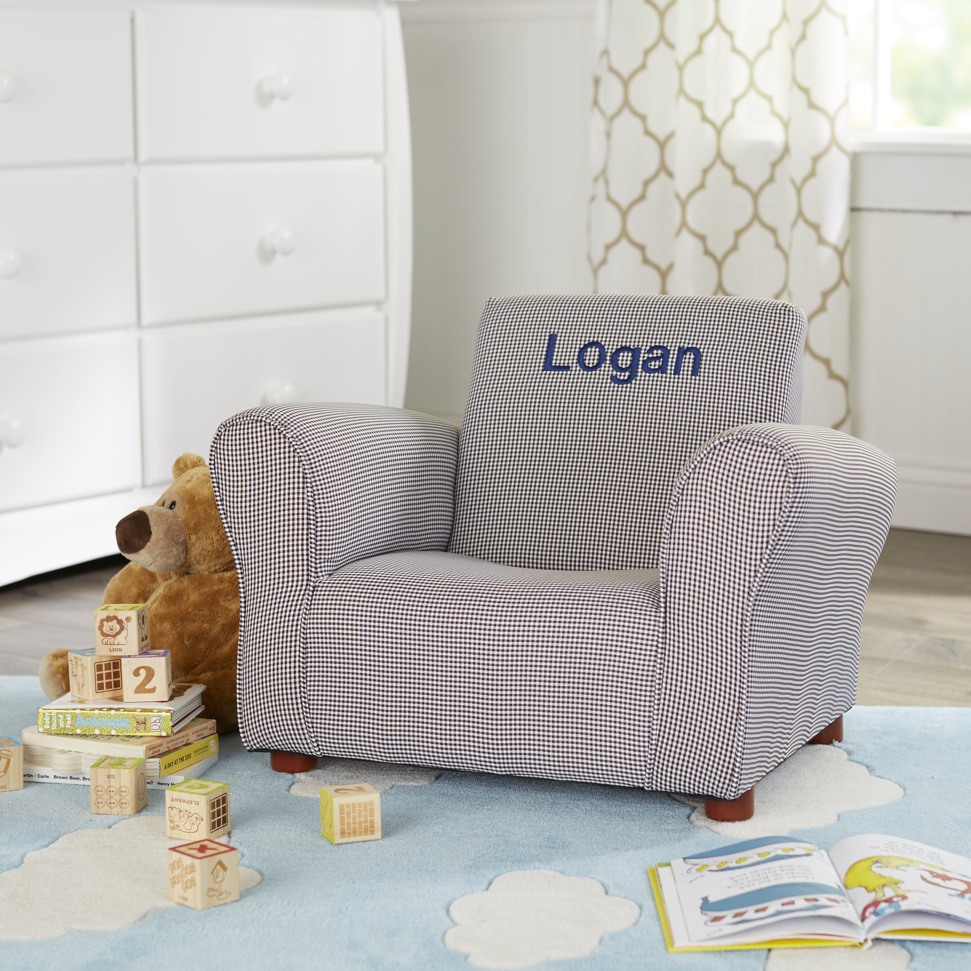 Keet Little Furniture Personalized Kids Club Chair Reviews Wayfair
