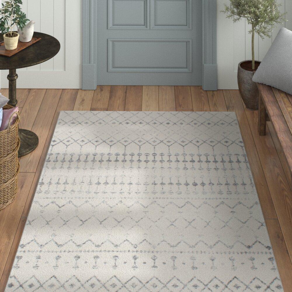 Clair grey area rug