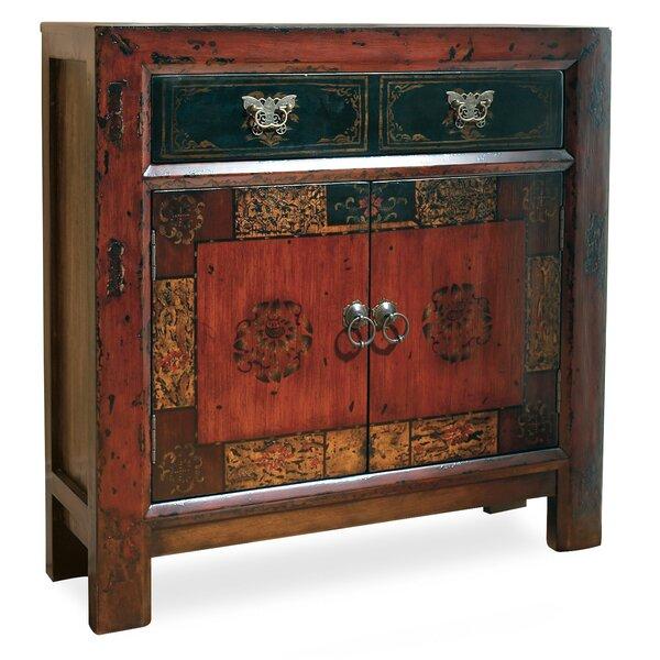 Hooker Furniture Asian 2 Door 1 Drawer Hall Accent Cabinet