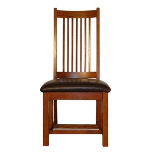 Jere Spindle Back Mission Upholstered Dining Chair (Set Of 2)