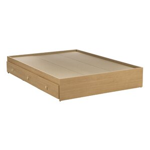 brook hollow fulldouble storage platform bed - Wood Bed Frame With Drawers