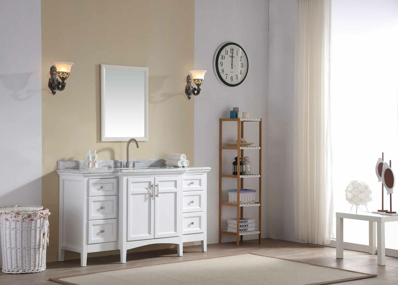 Carpenter 60 single bathroom vanity set reviews joss main carpenter 60 single bathroom vanity set geotapseo Image collections