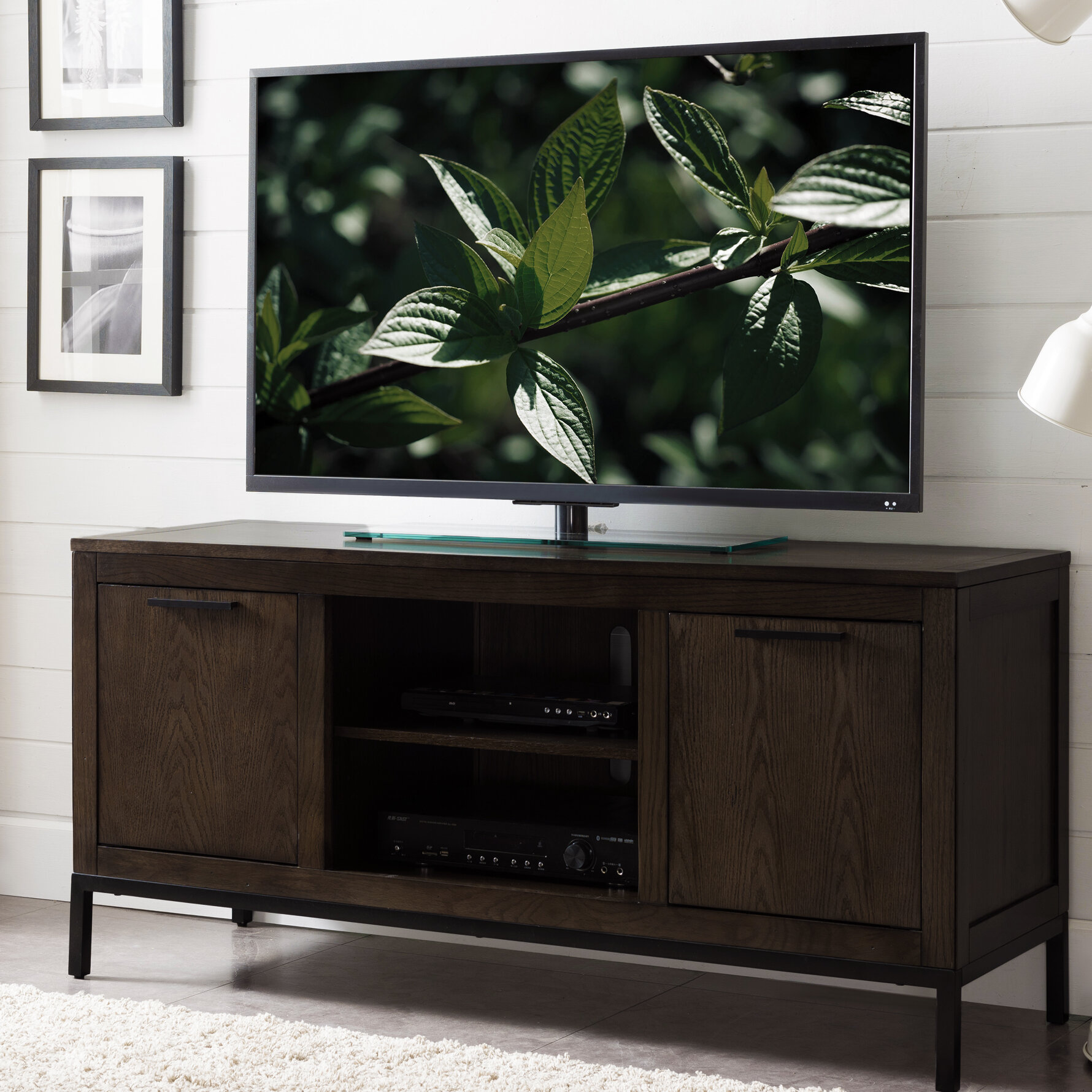 Wrought Studio Laub Vintage Tv Stand For Tvs Up To 55 Reviews