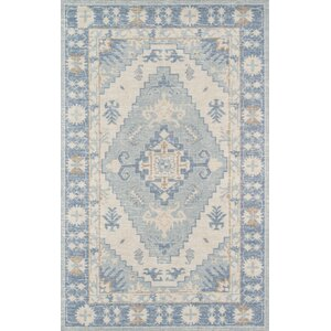 Erela Indoor Blue Area Rug