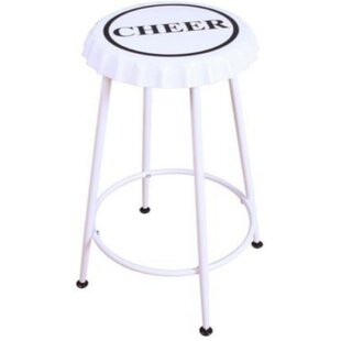 Brandes 2 Piece Metal Counter Height Bar Stool Set (Set of 2)