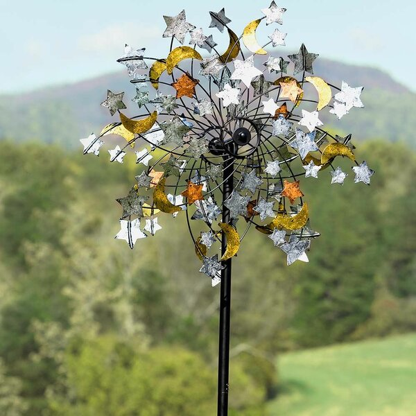 Plow Amp Hearth Celestial Confetti Wind Spinner Amp Reviews