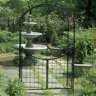 Savannah Steel Arbor With Gate