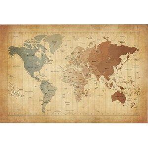World map wall art gumiabroncs Images