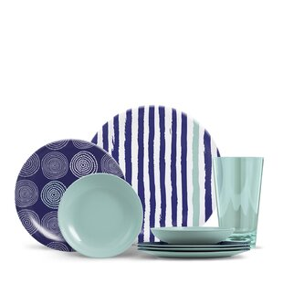 Outdoor Dinnerware Sets  sc 1 st  Joss \u0026 Main & Outdoor Dinnerware Sets | Joss \u0026 Main