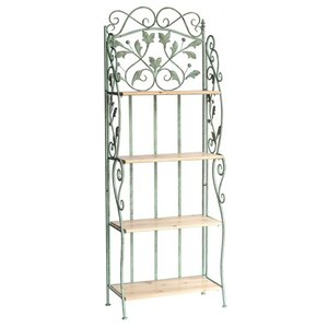 Burbage Tall Wooded Standard Baker's Rack