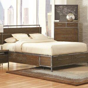 tressider storage platform bed