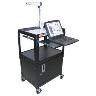 Adjule Height Workstation Av Cart