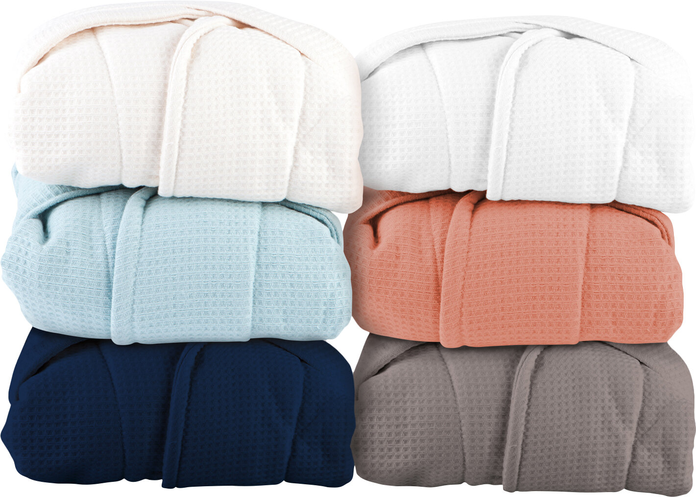 The Twillery Co. Whitman Superior Weave Cotton Waffle Bathrobe ... cb4d577d3