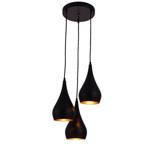 Awesome Berenice 3 Light Cluster Pendant