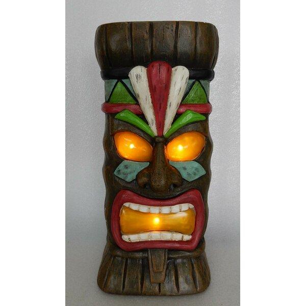 Solar Tiki Statue Wayfair