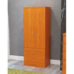 Maple 2 Door Armoire by Hazelwood Home