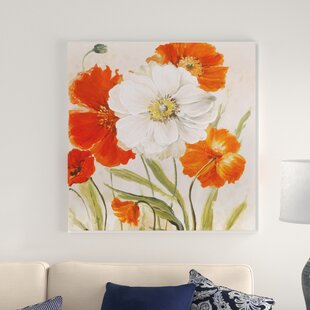 White Flower Painting Wayfair
