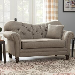 Three Posts Serta Upholstery Wheatfield Loveseat Image