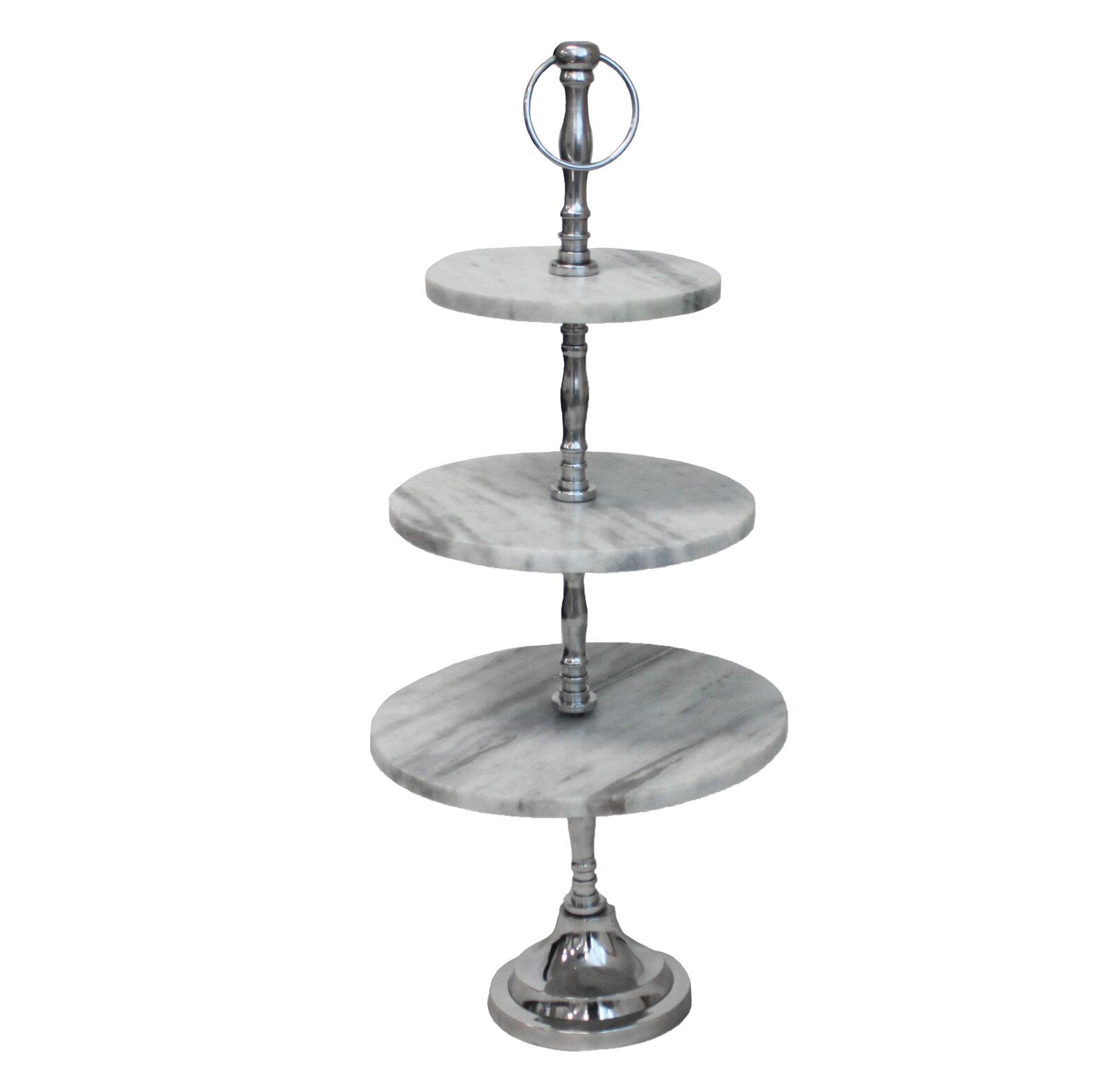 objet entertaining cake pedestal metal l evoca dessert stand