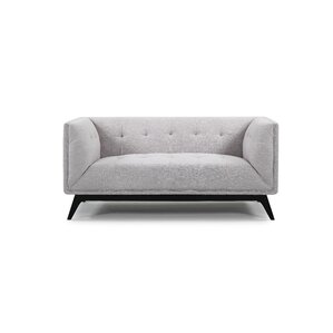 Ontario Chesterfield Loveseat by Noble House