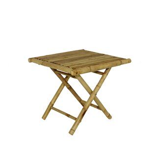Lefke Square Low Folding Side Table