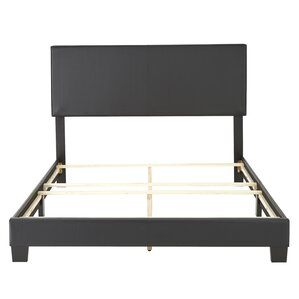 Haskin Padded Upholstered Bed Frame by Latitude Run