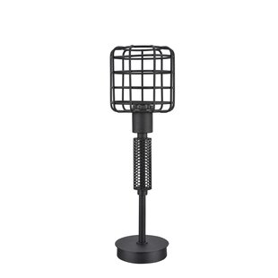 Wire cage lamp wayfair cristen wire cage metal 18 table lamp greentooth Choice Image