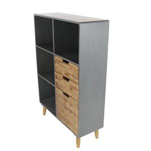 Storage Shelf 3 Drawer Accent Chest