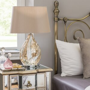 Electroplated  58.5cm Bedside Table Lamp