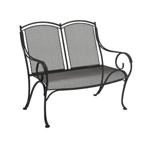 Captivating Modesto Wrought Iron Garden Bench