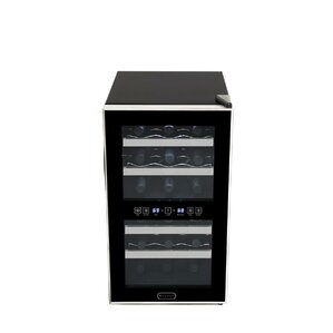 18 Bottle Dual Zone Freestanding Wine Coo..
