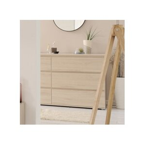 Mallow 6 Drawer Dresser by Parisot