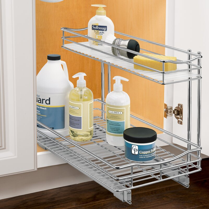 Lynk Roll Out Under Sink Cabinet Organizer