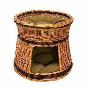 Morven 2 Tier Cat House Basket by Brambly Cottage