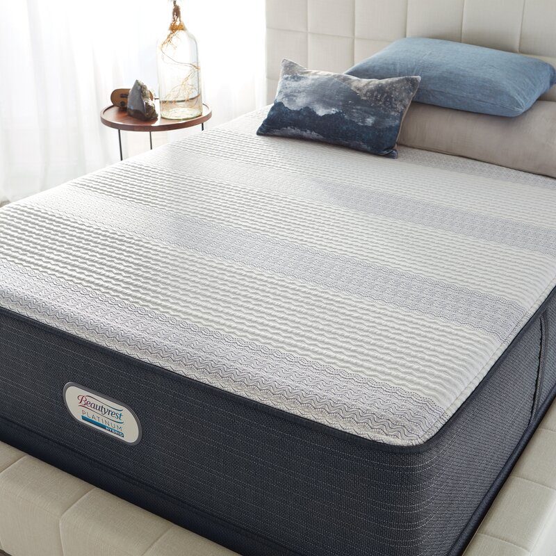 Simmons Beautyrest Platinum 14 Ultra Plush Hybrid Mattress And Box Spring Wayfair