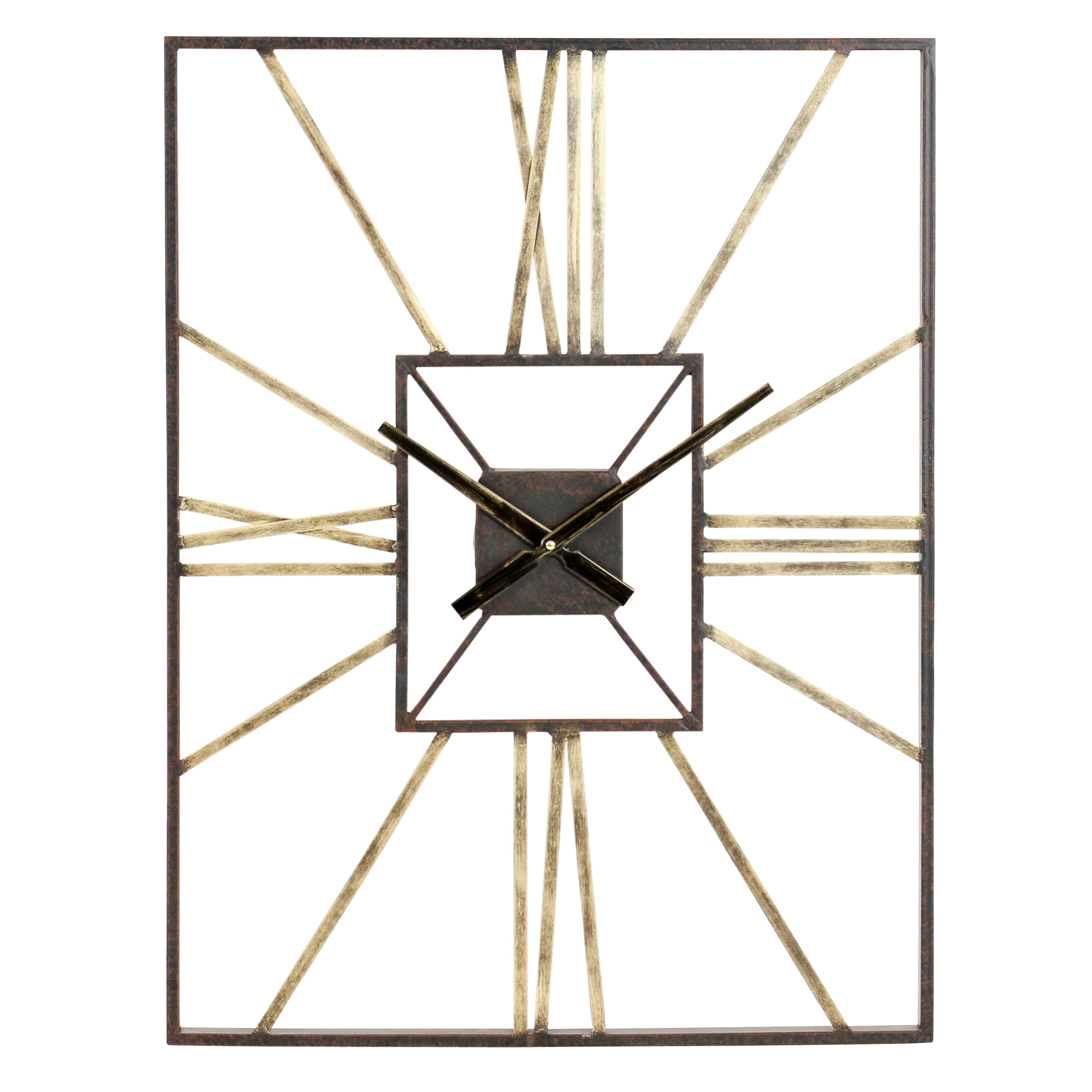 Dillwyn mid century wall clock reviews allmodern