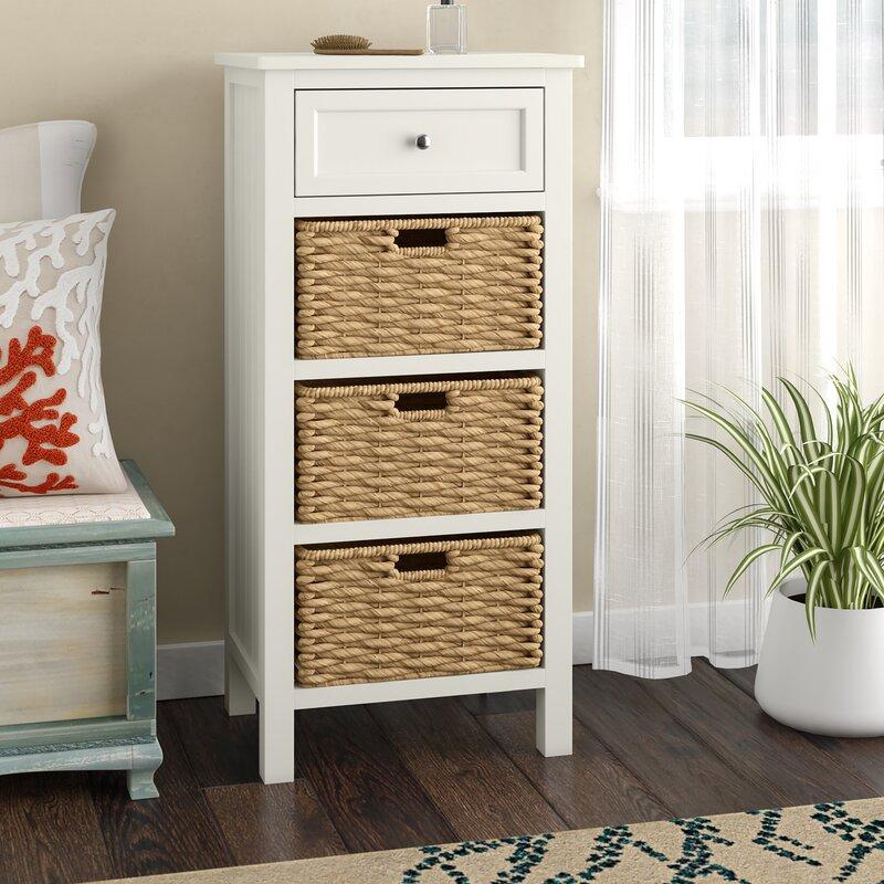 10917f590fe Beachcrest Home Hampton 4 Drawer Accent Cabinet & Reviews | Wayfair