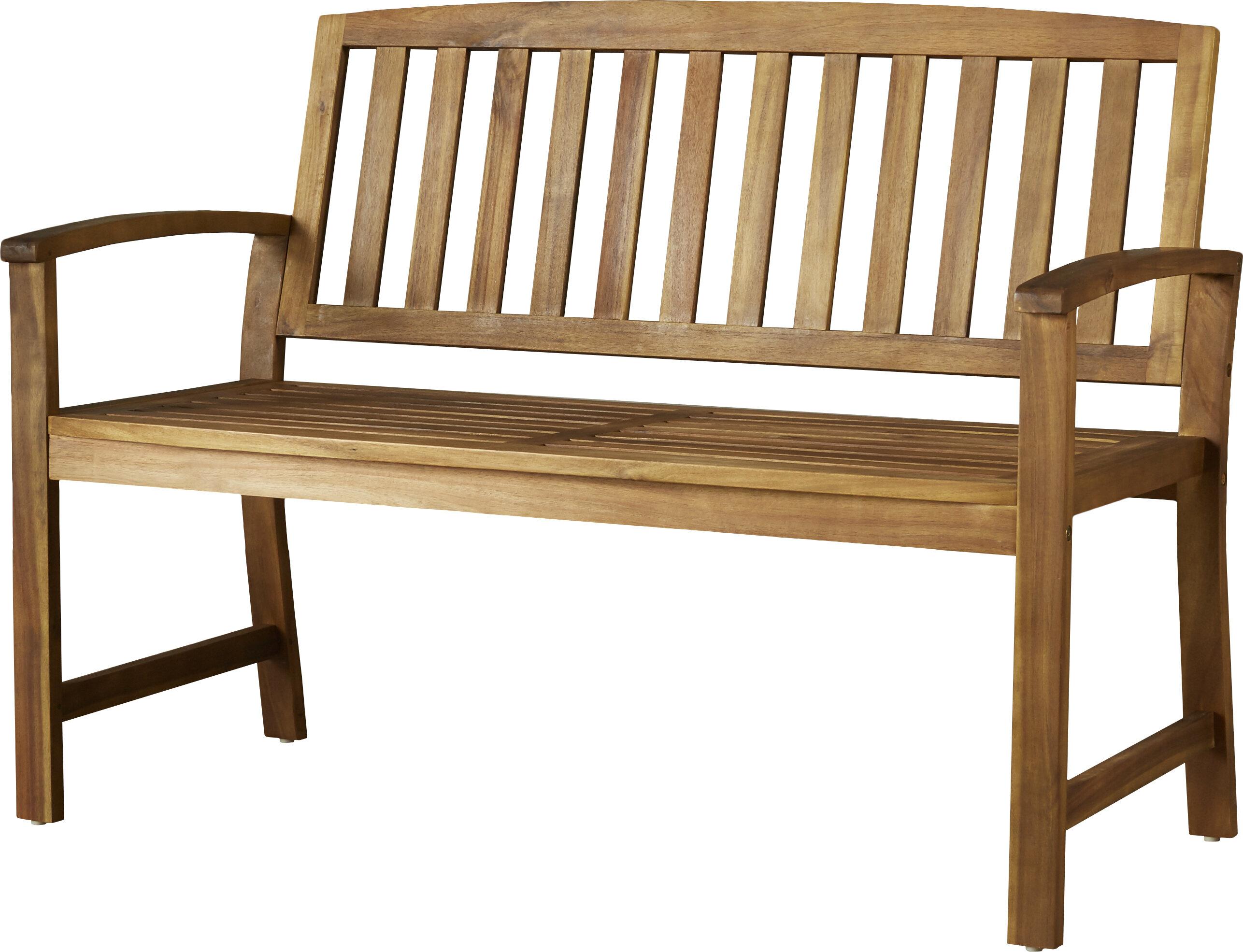 Leora Acacia Wood Garden Bench Reviews Joss Main