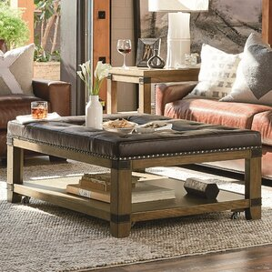 Brigadoon Coffee Table with Tray Top by Loon..