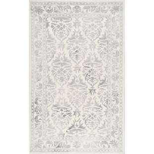 Low priced Mount Salem Hand-Woven Wool Light Gray Area Rug By Alcott Hill