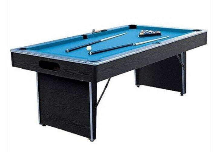 Folding Non Slate 6.5u0027 Pool Table