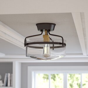 Rhinebeck 1-Light Semi Flush Mount